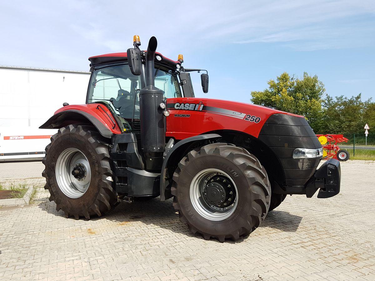 Case ih magnum ps traktor allrad landwirt