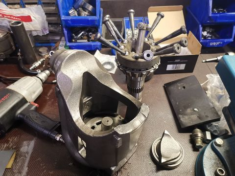 Steyr CVT Vario Getriebe Reparatur reparieren
