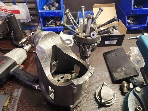 New Holland CVT  Vario Getriebe Reparatur repari