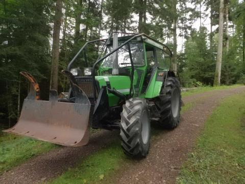 Deutz Fahr Allradtraktor DX 86-A