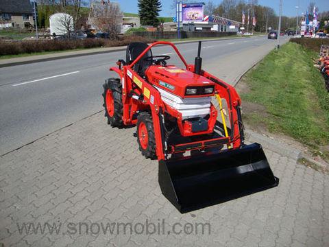 kubota allrad kubota b1400d mit frontlader 540 1000 chargeur frontal tracteurs. Black Bedroom Furniture Sets. Home Design Ideas
