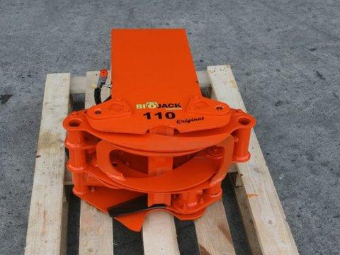 Bio Jack 110 Fällgreifer Minibagger Energieholzernter