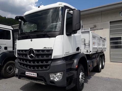 Mercedes AROCS  3342K 6x4  inkl. Meiler 3-Seiten