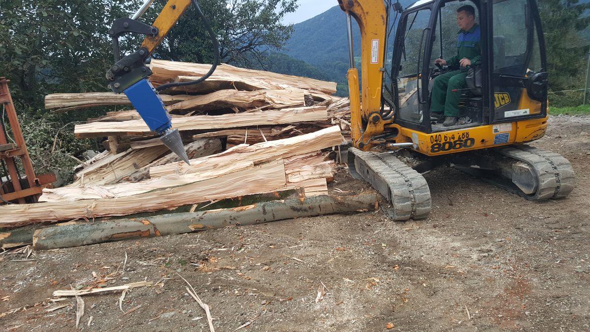 Gemeinsame Sonstige Kegelspalter Holzspaler Bagger 1.100 ccm - Peter Gruber #JR_92