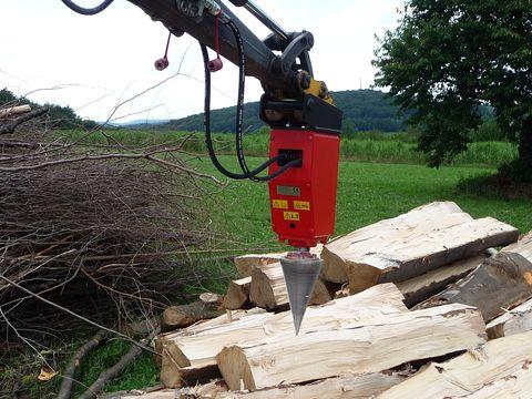 Sonstige Kegelspalter Baggerspalter Holzspalter 800 ccm
