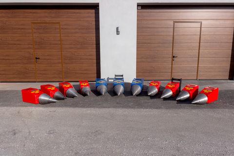 Sonstige Kegelspalter Holzspaler Bagger 800 ccm