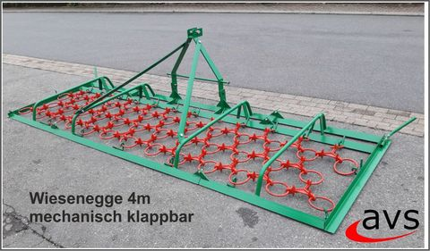 Sonstige Wiesenegge Wiesenschleppe 4m  klappbar