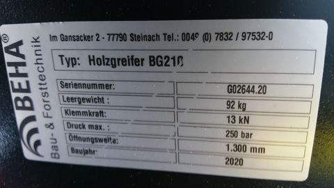 Beha Frontladergreifer FLG 21/3 light