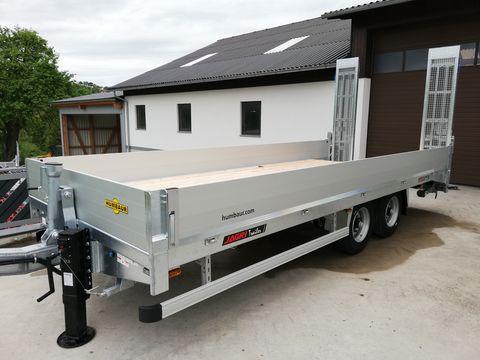 Humbaur Baggertransporter HBT 106224 BS Tandem Tieflader