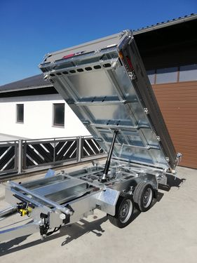 Humbaur Kipper HTK3000.31 - 3,14m x 1,75m - Stahlwände