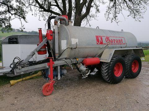 Kotte Garant 8000L- Druckluft- Nachlauflenkachse