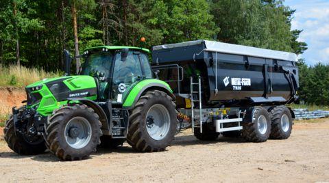 Metal-Fach Muldenkipper T 935-24to. Gesamt-30m³