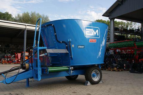 Euromilk FX 700-Futtermischwagen-NEU