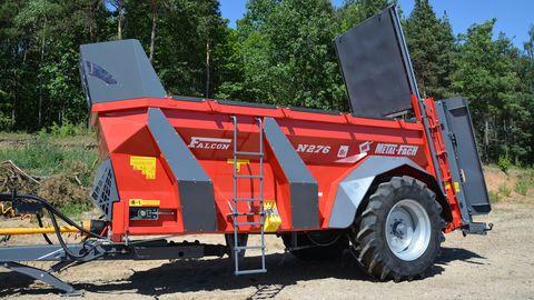 Metal-Fach N276 FALCON 8 to.-Dungstreuer-NEU