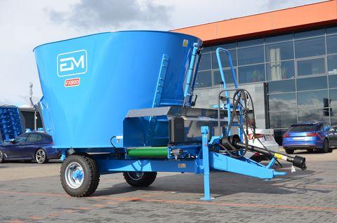 Euromilk FX 800-Futtermischwagen-NEU