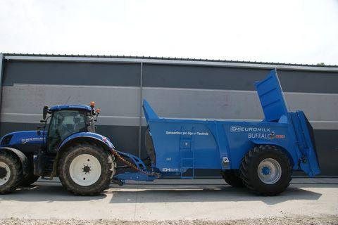 Euromilk Buffalo RX 1600-Vorführmaschine