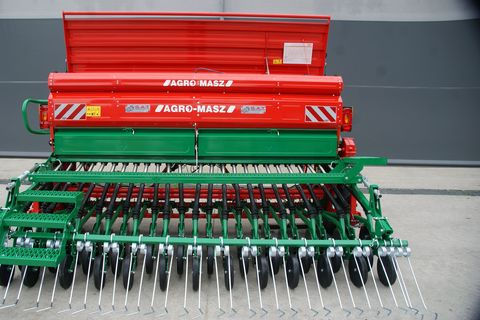 Agro Masz SR 300-Doppelscheibenschar-Neumaschine