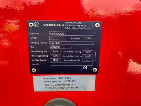 Weidemann 4270 CX100 T