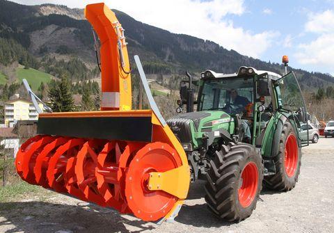 Westa 650/6570/7370 Schneefräse Traktor Lindner AEBI