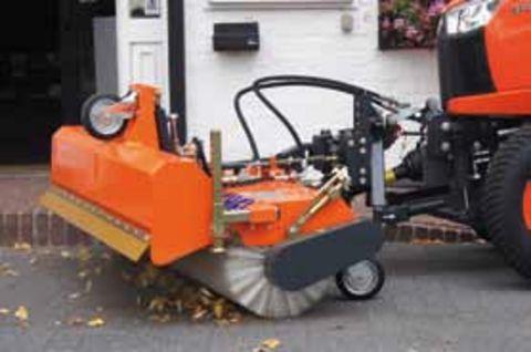 Tuchel SIMPLEX KEHRMASCHINE Traktor Kubota Iseki John D