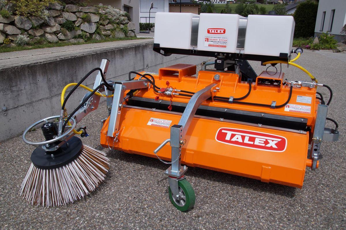 talex kehrmaschine traktor hoflader radlader stapler - 3. roue de