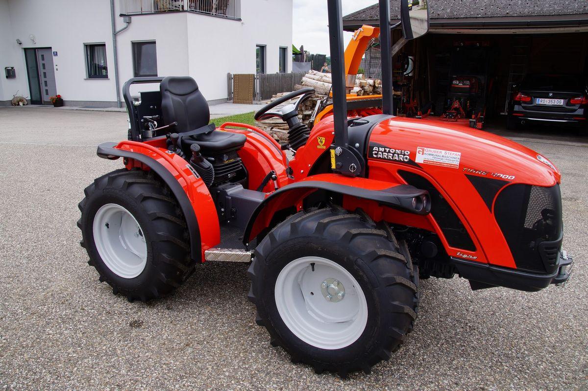 antonio carraro tigre 4000 traktor schlepper holder kubota. Black Bedroom Furniture Sets. Home Design Ideas