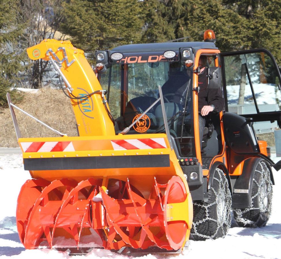 Cxserie 3punkt Schneefräse Traktor Schneefräse: Westa 750/1600 SCHNEEFRÄSE HOLDER CARRARO Traktor TOP