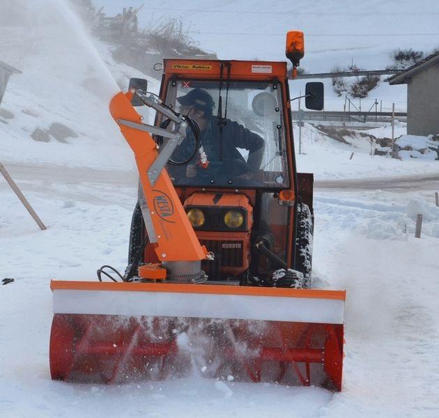 Cxserie 3punkt Schneefräse Traktor Schneefräse: Westa 45L Schneefräse Kubota Carraro NEU Frässchleuder
