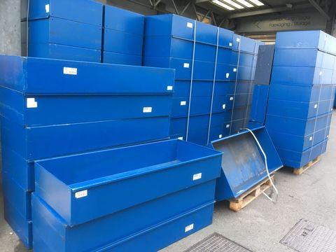 Sonstige Metall Kiste blau 400 Stk.
