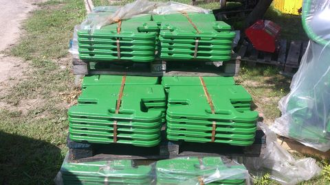 John Deere  Orrsúly 50 kg -os / táskasúly