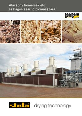 Egyéb STELA biomassza szárítók