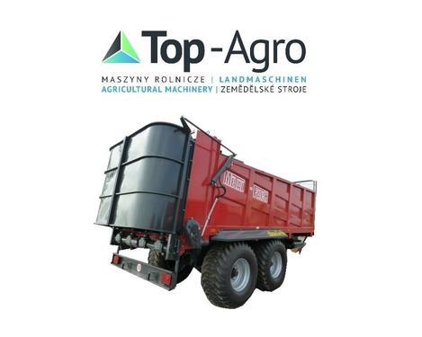 Metal-Fach TOP-AGRO Düngerstreugeräte N272/1 12T 13,8m3 TOP-AGRO Bes