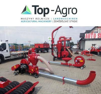 TOP-AGRO Saugdruckgebläse T207 TOP-PREIS 7,5KW !!NEU!!