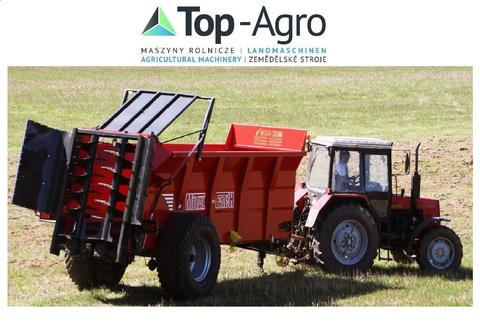 Metal-Fach TOP-AGRO Düngerstreugeräte N275 14T 12,1m3  Best quality