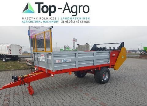 Top-Agro Düngerstreuer Miststreuer 4,5T BEST 2019 LACKIER