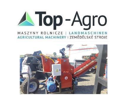 Top-Agro mobile Walzen-Holzhackmaschine RPE-200 6Messer 3