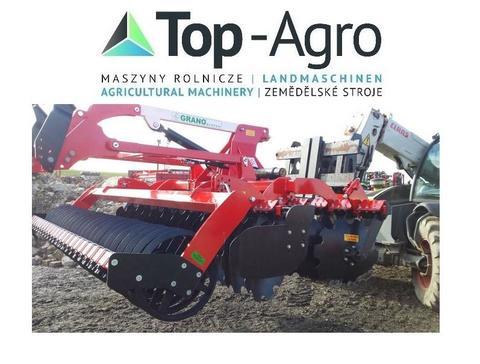 Top-Agro Grano-System Scheibenegge DACHRINGWALZE 3m !!NEU