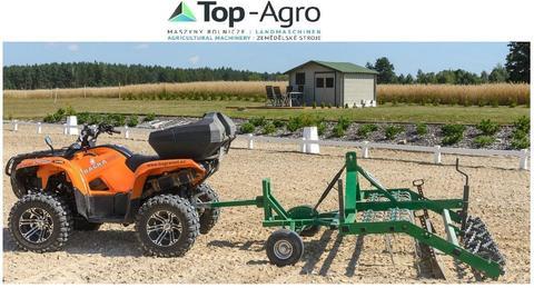 Top-Agro BM Horse Reitplatzplaner  DIEGO 1,6m Manuelle oder hydraulische Höhenverstellung der