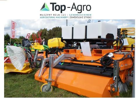 Top-Agro Heavy Duty Profesional Kehrmaschine 1,8m Kehrbührste PROFESIONAL SERIE