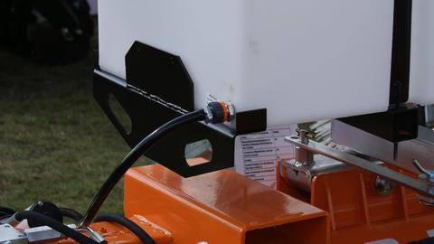 Top-Agro Heavy Duty Profesional Kehrmaschine 2,20m Kehrbührste PROFESIONAL SERIE