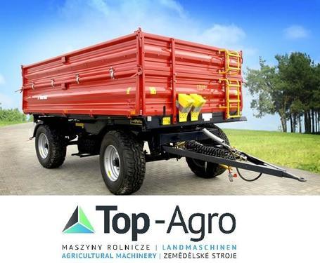 Metal-fach T711/2 - 10t  3-Seiten Kipper  TOP-AGRO NEU