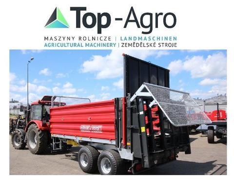 Metal-Fach TOP-AGRO AKTIONSPREIS N280/2 10000kg 11m³ MISTSTREUER mit offene Bordw