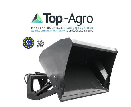 Top-Agro DIREKT VOM HERSTELLER  EU-Qualitat 2019 Hochkippschaufel Minilader (HKS-ML) 1,0M bis 1,6