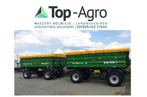 Metal-Fach TOP-AGRO T711/3 - 12t 3-Seiten Kipper NEU