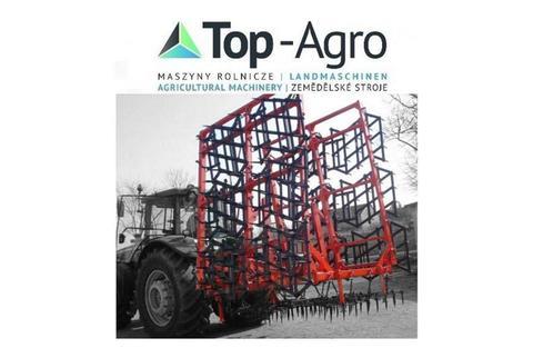 Top-Agro Top-Agro Zweireige Schwerzinkenegge mit 16 Felde
