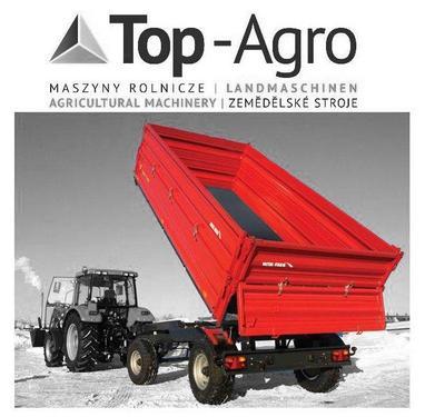 Metal-Fach TOP-AGRO T710/2 - 8t 3-Seiten Kipper TOP-AGRO NEU
