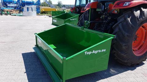 TOP-AGRO Transportbox 1,5 Meter mechanisch Kippmulde, Heckcontainer !!