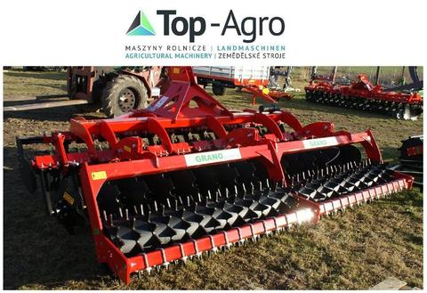 Top-Agro Grano-System Scheibenegge ZAHNPACKERWALZE  3,5m