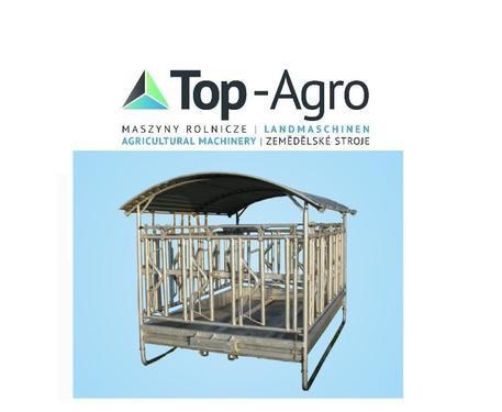 Top-Agro Top-Agro Raufe Fressraufe mit Fangfressgitter