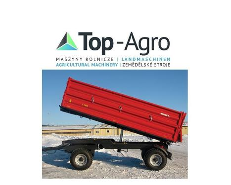 Metal-Fach TOP-AGRO T710/1 - 6t 3-Seiten Kipper TOP-AGRO NEU